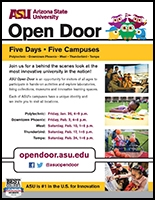 Open Door Flyer