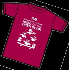 Night of the Open Door T-shirt